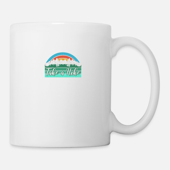 Take Mugs & Drinkware - Take a Hike - Mug white
