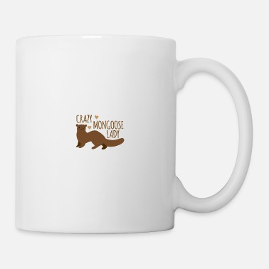 Marten Crazy mongoose lady - Mug