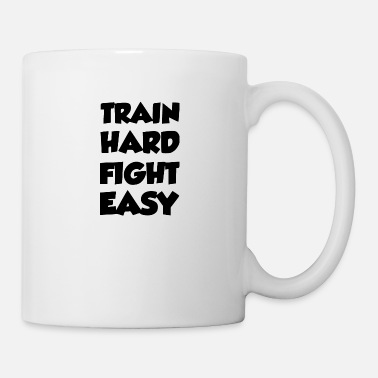 Jiujitsu train hard - Mug