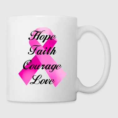 Pink Ribbon Faith - Coffee/Tea Mug