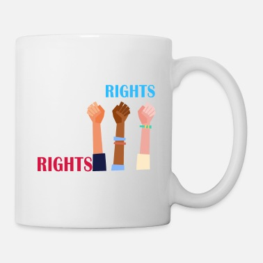 Human Rights Women's rights are human rights - Mug
