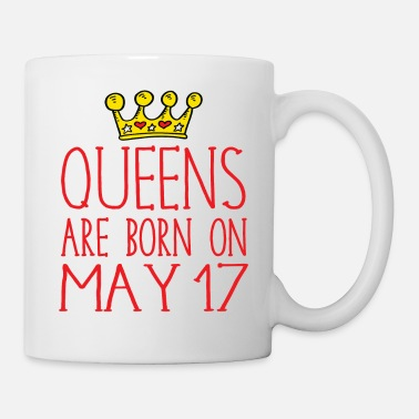Born In Queens are born on May 17 - Mug