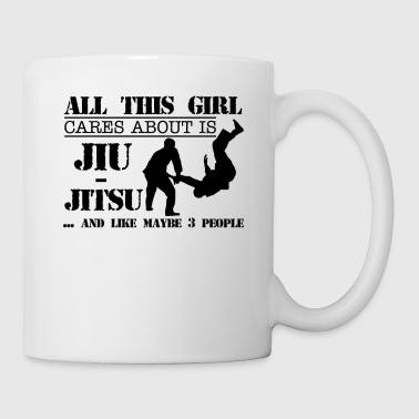 JiuJitsu Lovers Mug - Coffee/Tea Mug