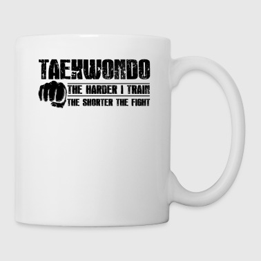 Taekwondo Taekwondo The Shorter The Fight Mug - Coffee/Tea Mug
