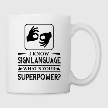 Sign Language Mug - Coffee/Tea Mug