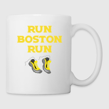Run Boston Run Running Marathon - Coffee/Tea Mug