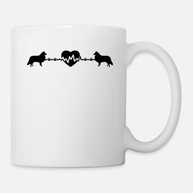 Sheltie Sheltie Heartbeat Mug - Coffee/Tea Mug