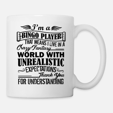 Bingo I'm A Bingo Player Mug - Coffee/Tea Mug