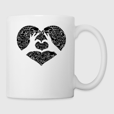 Sign Language Love Mug - Coffee/Tea Mug