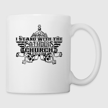 Church I Stand With The Catholic Church Mug - Coffee/Tea Mug