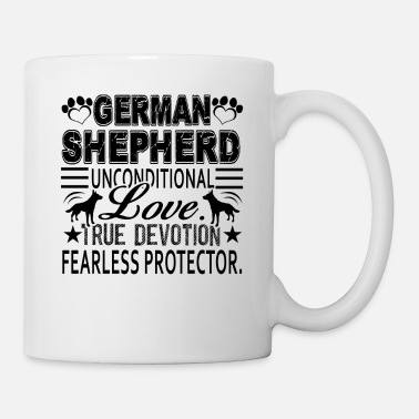 German German Shepherd Unconditional Love Mug - Coffee/Tea Mug