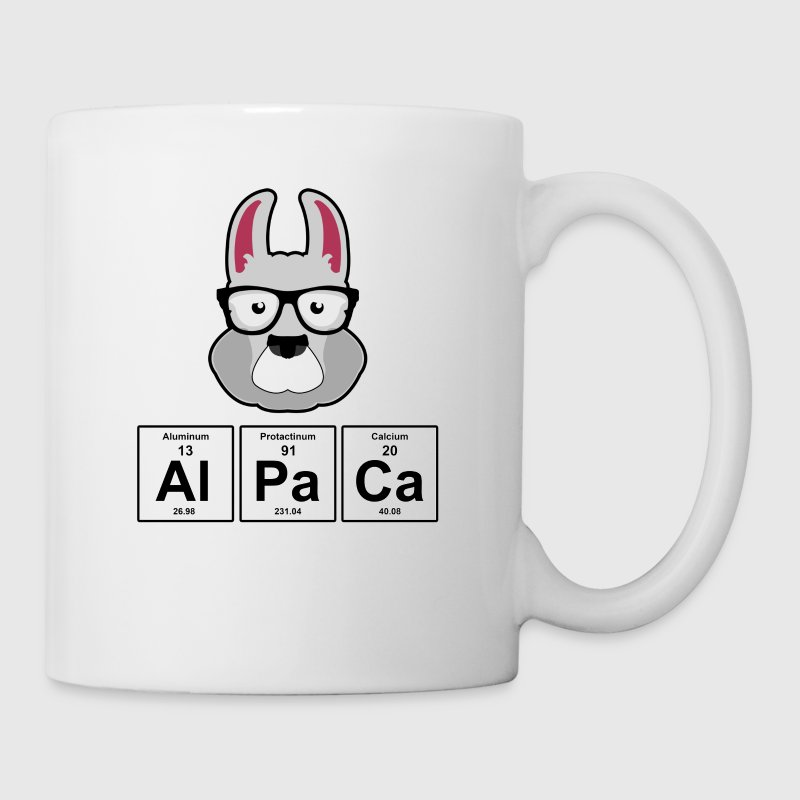 Alpaca periodic table elements mug spreadshirt alpaca periodic table elements coffeetea mug urtaz Gallery