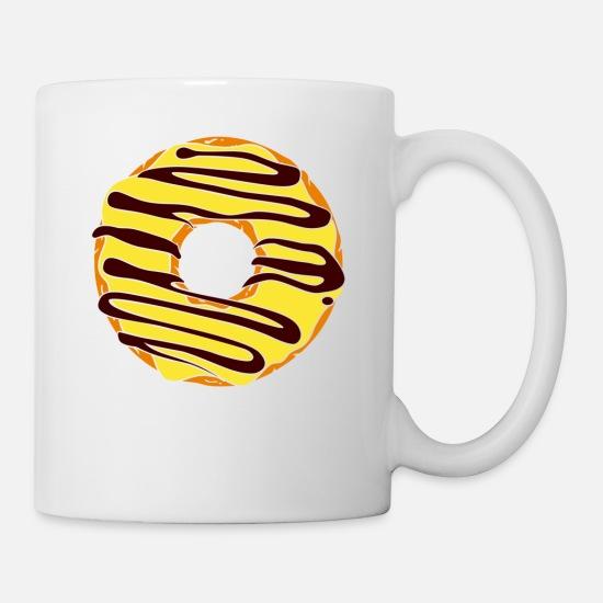 30eef047277 Donut Mug - Donut Coffee Mug Coffee/Tea Mug - white