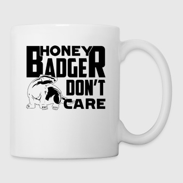 Badger Mug - Badger Don't Care Coffee Mug - Coffee/Tea Mug