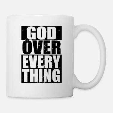 Money Cool Christian God Over Everything - Mug