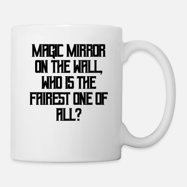 Magic Snow white - Magic Mirror on the wall - Mug