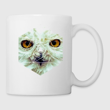 Sumu Lee Snow Owl - Cool Graphic Mysterious Wildlife - Coffee/Tea Mug