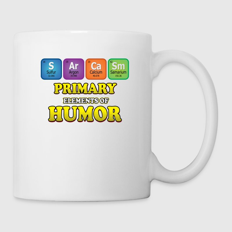 Sarcasm Periodic Table Coffee Tea Mug