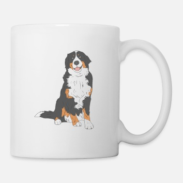 Dog Bernese mountain dog - Mug
