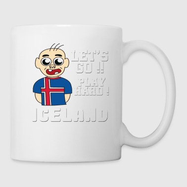Iceland Football World cup Soccer Championship world champion ball - Coffee/Tea Mug