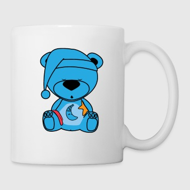 Sleepy Teddy Bear - Coffee/Tea Mug