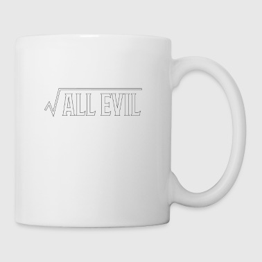 Root of All Evil Math Pun - Coffee/Tea Mug