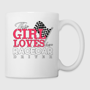 Loves Her Race car Driver - Racing - Total Basics - Coffee/Tea Mug