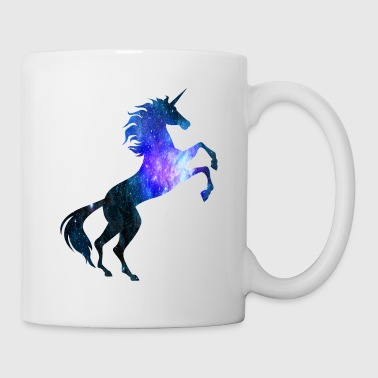 Unicorn Galaxy Symbol T-Shirt Universe Magical - Coffee/Tea Mug
