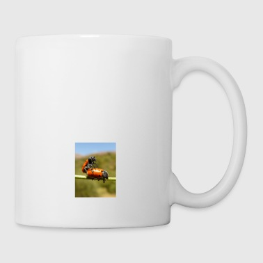 Man woman bugs - Coffee/Tea Mug