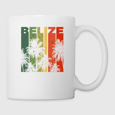 Retro Belize Beach Vacation Souvenir - Coffee/Tea Mug