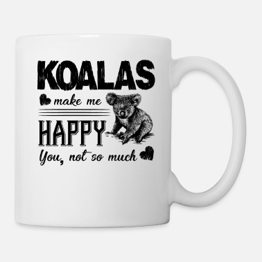 Animal Koalas Make Me Happy Shirt - Mug