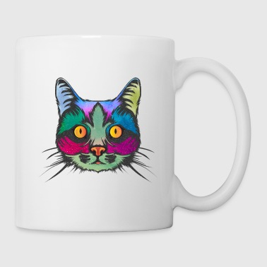 Trippy Trippy Cat - Coffee/Tea Mug