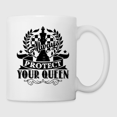 Always Protect Your Queen Chess Shirt - Coffee/Tea Mug