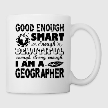 Strong Geographer Shirt - Coffee/Tea Mug