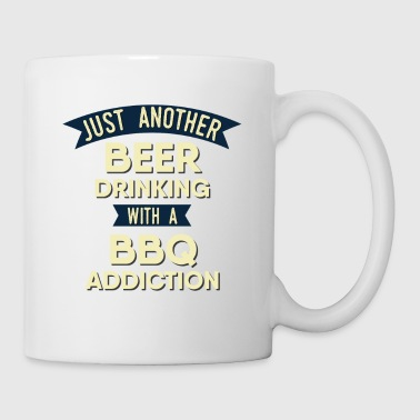 Pitmaster BBQ Barbecue food grill Put my meat in your mouth and swallow design bbq addiction - Coffee/Tea Mug