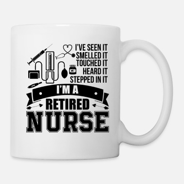 Nurse Retired Nurse Shirt - Mug