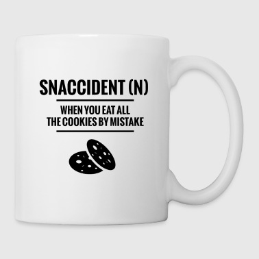 Snaccident When You Eat All The Cookies Mistake - Coffee/Tea Mug