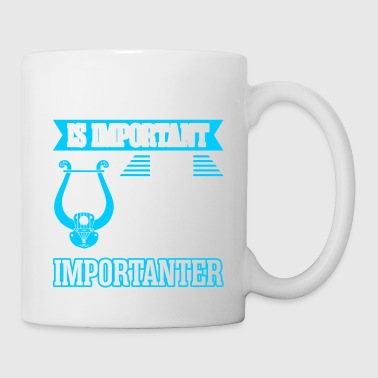 Education Is Important But Lyre Is Importanter - Coffee/Tea Mug