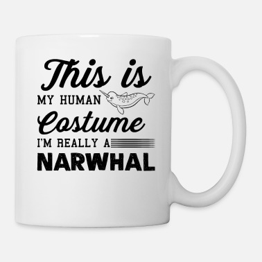 Narwhal I'm Really A Narwhal Shirt - Coffee/Tea Mug