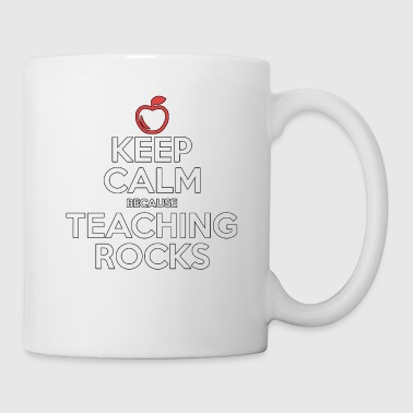 Teaching Rocks - Teacher - Total Basics - Coffee/Tea Mug