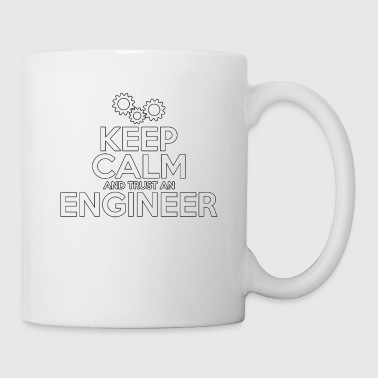 Keep Calm And Trust An Engineer - Total Basics - Coffee/Tea Mug