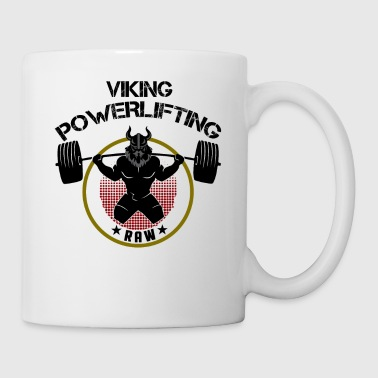 Viking Squat Bodybuilding Powerlifting Lifting Gym - Coffee/Tea Mug