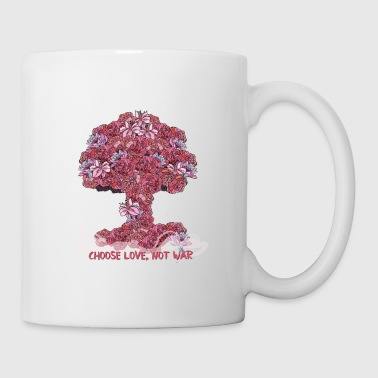 Atomic Bomb Atomic bomb of flowers - Coffee/Tea Mug