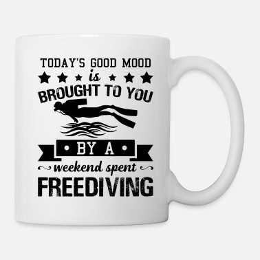 Freediving Weekend Spent Freediving Shirt - Coffee/Tea Mug