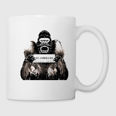 mexican gorilla prison t-shirt - Coffee/Tea Mug