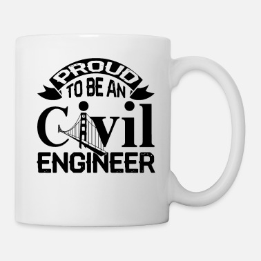 Civil Engineering Proud Civil Engineer Shirt - Coffee/Tea Mug