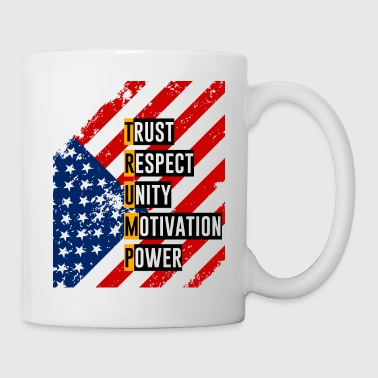 ReElect Trump for President. Keep America Great! Light - Coffee/Tea Mug