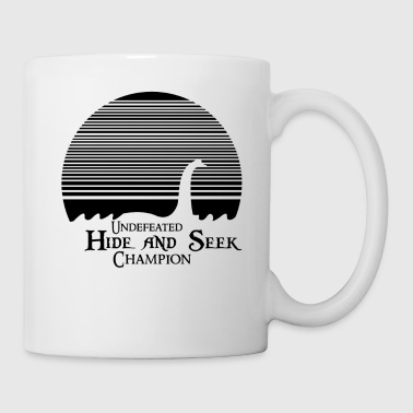 Lochness Monster Loch Ness Nessie Halloween Light - Coffee/Tea Mug