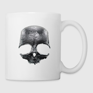 Silver Skull - Coffee/Tea Mug