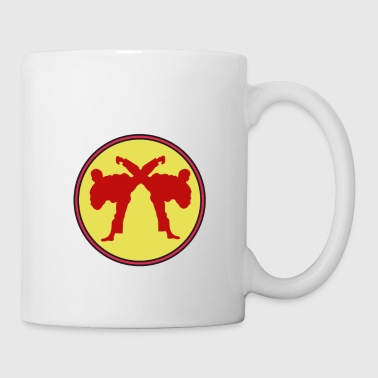 The Fighter's Sparring Tshirt Design SPARRING BETTER THAN THERAPY - Coffee/Tea Mug